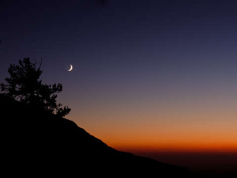 Sentinel-dome-sunset