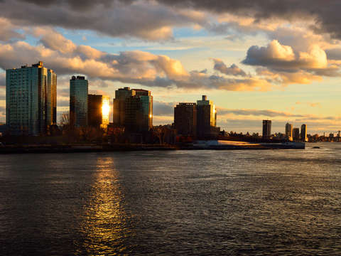 East river sunset 2