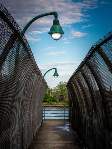 Walkway streetlamp series