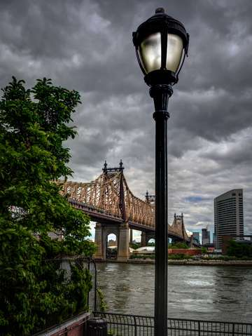 The 59th street bridge streetlamp series