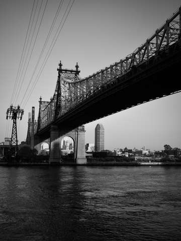 City noir queensboro bridge