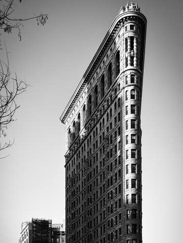 City noir the flatiron building