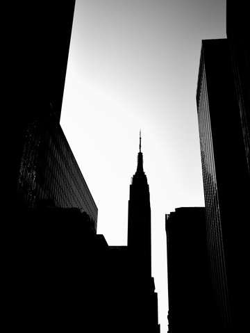 City noir empire state building