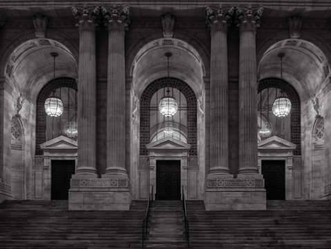 City noir new york public library