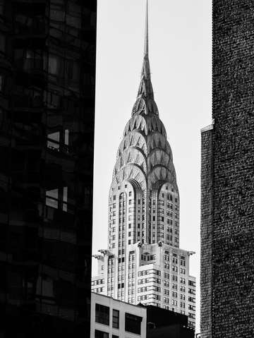 City noir chrysler building 3