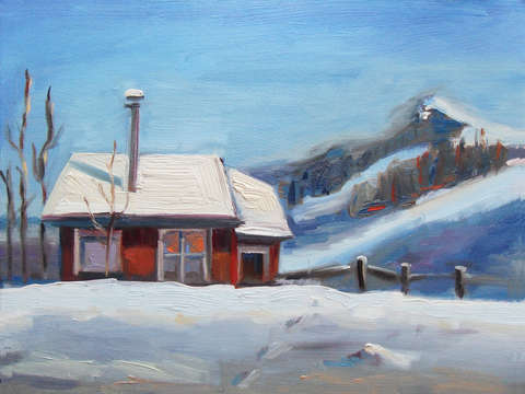 Winter-cabin