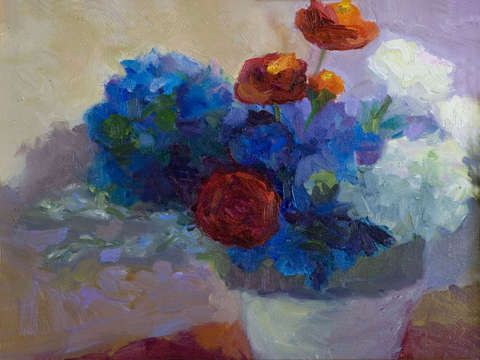 Red-white-blue-hydrangeas