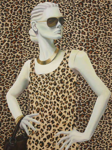 Couture leopard