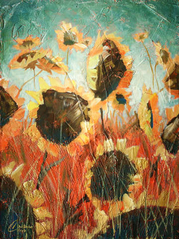 Wild sunflowers ii 2