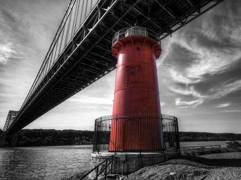 Little red lighthouse nyc hudson river