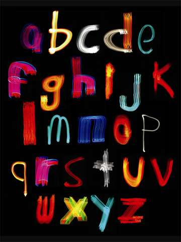 Alphabet lower case