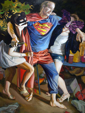 The drunken superman
