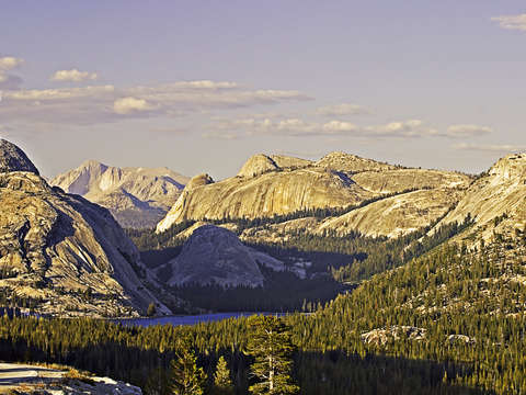 Tenaya lake evening