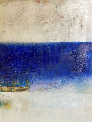 Encaustic river