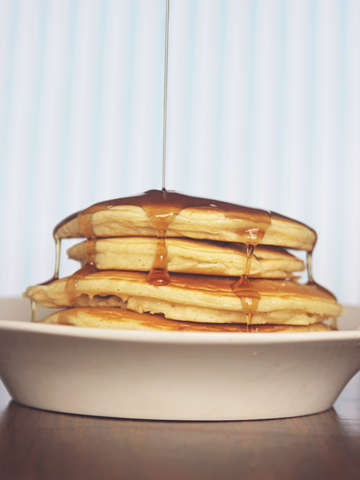 Wake up and smell the pancakes