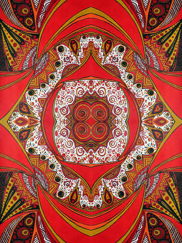 The fire within mandala