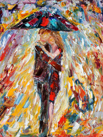 Rainy love by karen tarlton