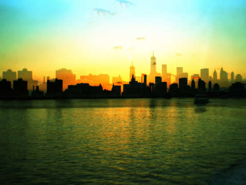NYC Shadow Skyline