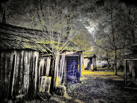 Columbia outhouse
