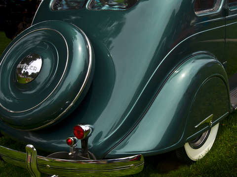 Art of the car 1935 chrysler c1 airflow 4 door sed