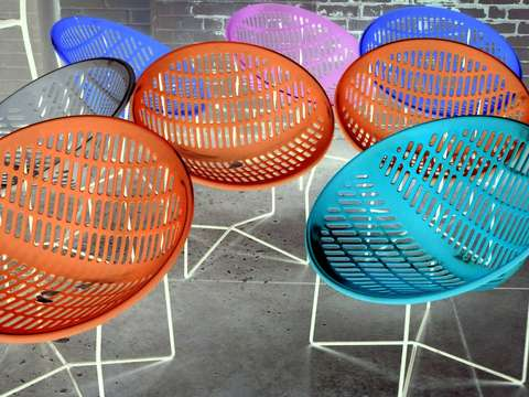 Multicolored Chairs
