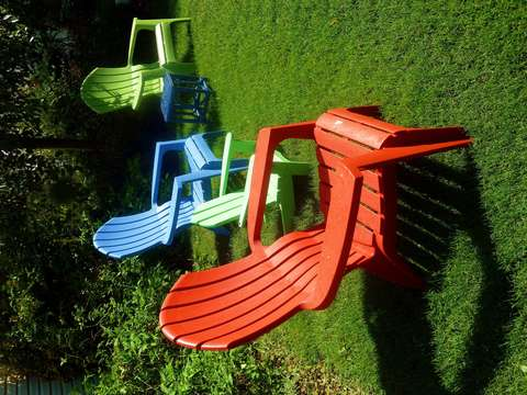 Summertime with chairs