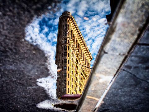 Flatiron reflection