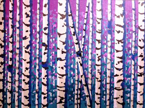 Birch trees series i