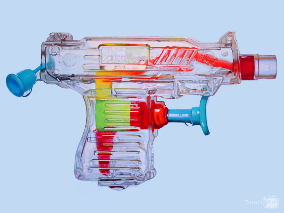 Clear squirtgun