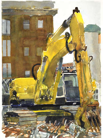 Demolition yellow