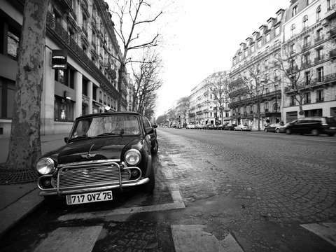 A Mini in Paris