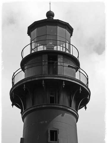 The hunting island light