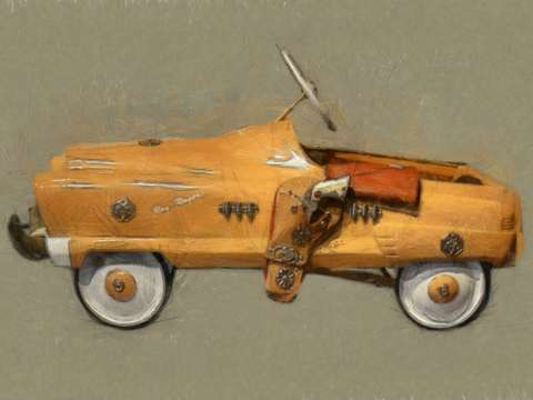 Roy rogers pedal car