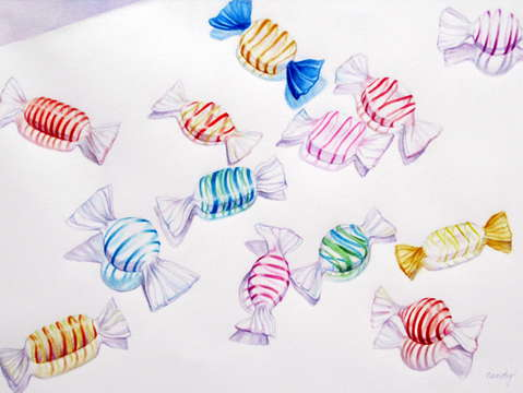 Glass candies ii