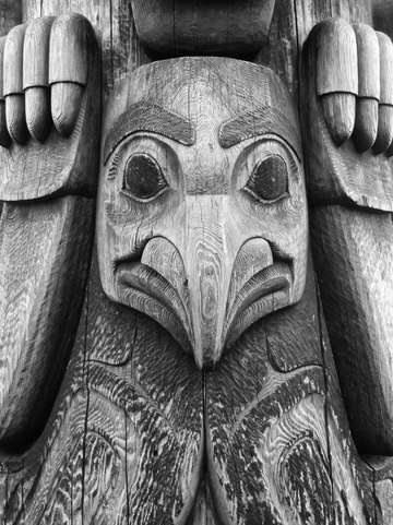 The guardian of puget sound seattle totem pole