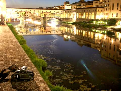 Reflections on the Arno