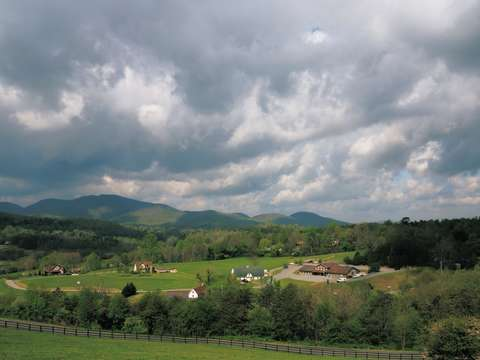 View of the brasstown valley