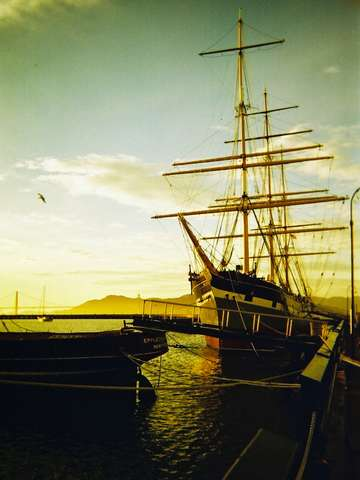 Balclutha at Sunset