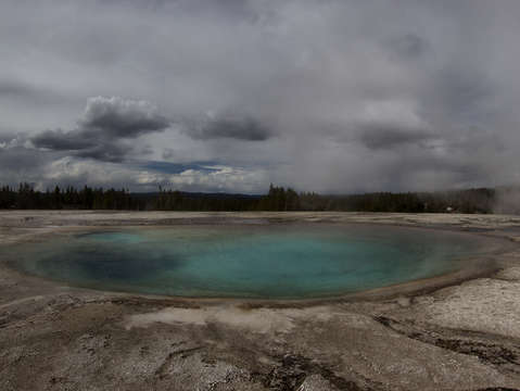 Stormy Hot Spring