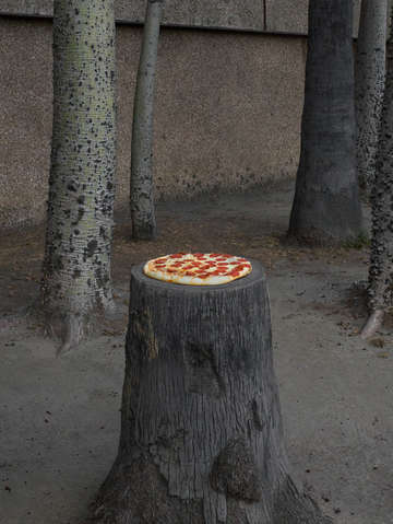 Pizza stump