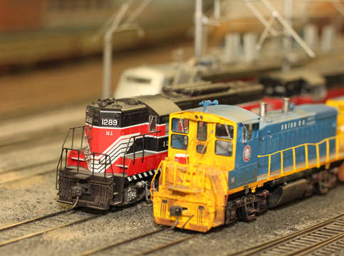 Model Railroad Locomotives