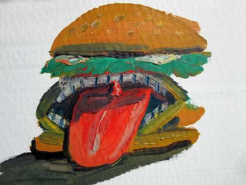 Tongue Burger