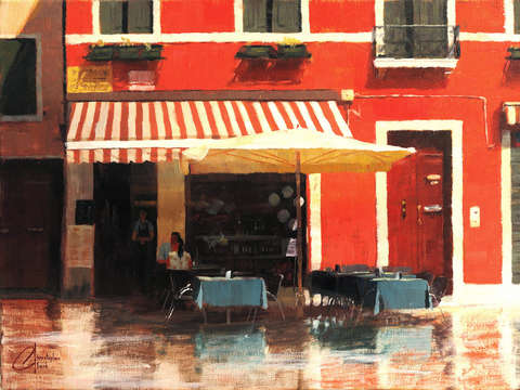 Cafe in venice ii