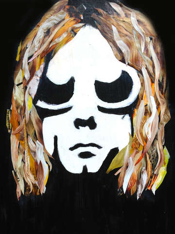 Kurt on canvas