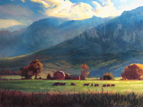 Rocky mountain farm