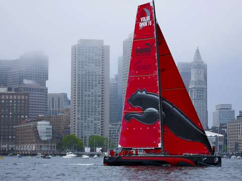 Puma racing in boston harbor