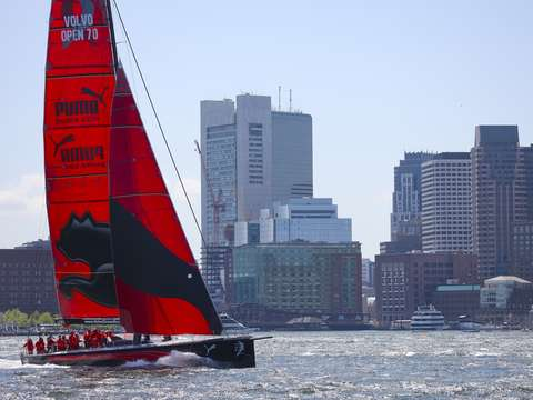 Puma sails in boston