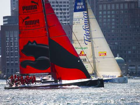 Volvo ocean race in boston