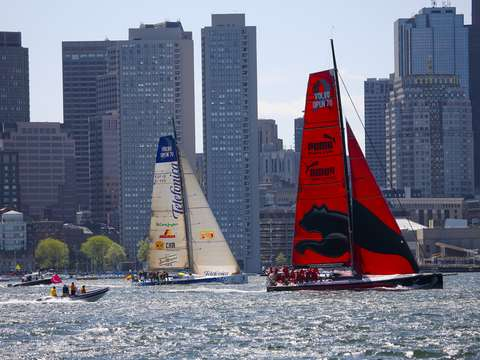 Pro am volvo ocean race in boston
