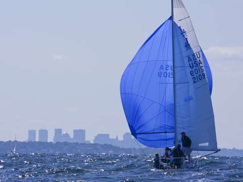 Spinnaker to boston